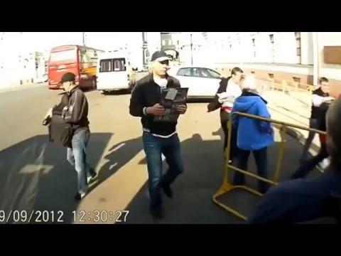 俄羅斯竊盜集團 一轉眼就被偷走了...