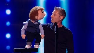 Britain's Got Talent 2019 The Champions Paul Zerdin 2nd Round Audition