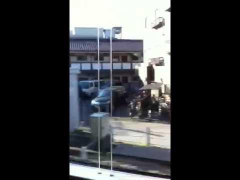 Narita xpress Tokyo Raúl cityscape scene