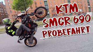 David Bost fährt meine SMCR Probe!