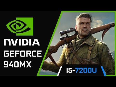 Sniper Elite 4 | Nvidia Geforce 940MX | i5 7200U |