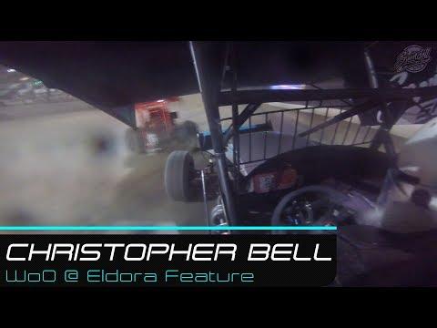 Christopher Bell   WoO @ Eldora Feature Cockpit   5.10.19