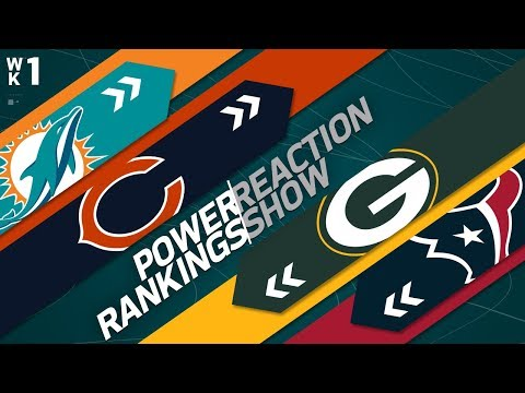 NFL Power Rankings Reaction Show | Week 1 | NFL Network