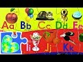 ABCs Learning Game for Preschool! Alphabet Jigsaw Puzzle for kids! Rompecabezas del Alfabeto!