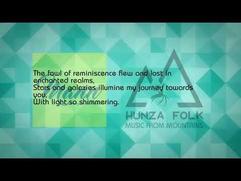 Imran Hunzai's Burushaski Ghazal with English translation by Aziz Ali Dad: sung by Salman Paras