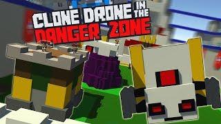 ПОПАЛ В CLASH OF CLANS, НОВЫЙ ПАУК? НОВЫЕ КАРТЫ | Clone Drone in the Danger Zone