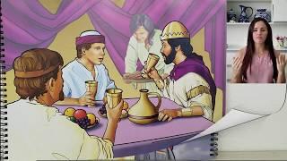 Histórias de personagens Bíblicos para crianças - Mefibosete