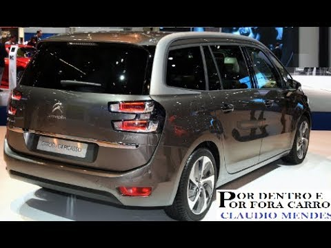 citroen grand c4 picasso 2018 com muitos detalhes youtube. Black Bedroom Furniture Sets. Home Design Ideas