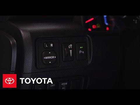 4Runner How-To: Front and Rear Parking Sonar | 2014 4Runner | Toyota