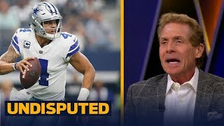 Skip Bayless reacts to the Dallas Cowboys' Week 4 loss to the Los Angeles Rams | UNDISPUTED