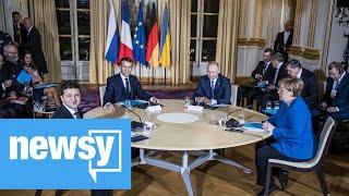Ukraine and Russia meet for peace talks