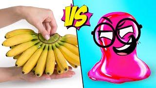 Bananas VS Slick Slime Sam
