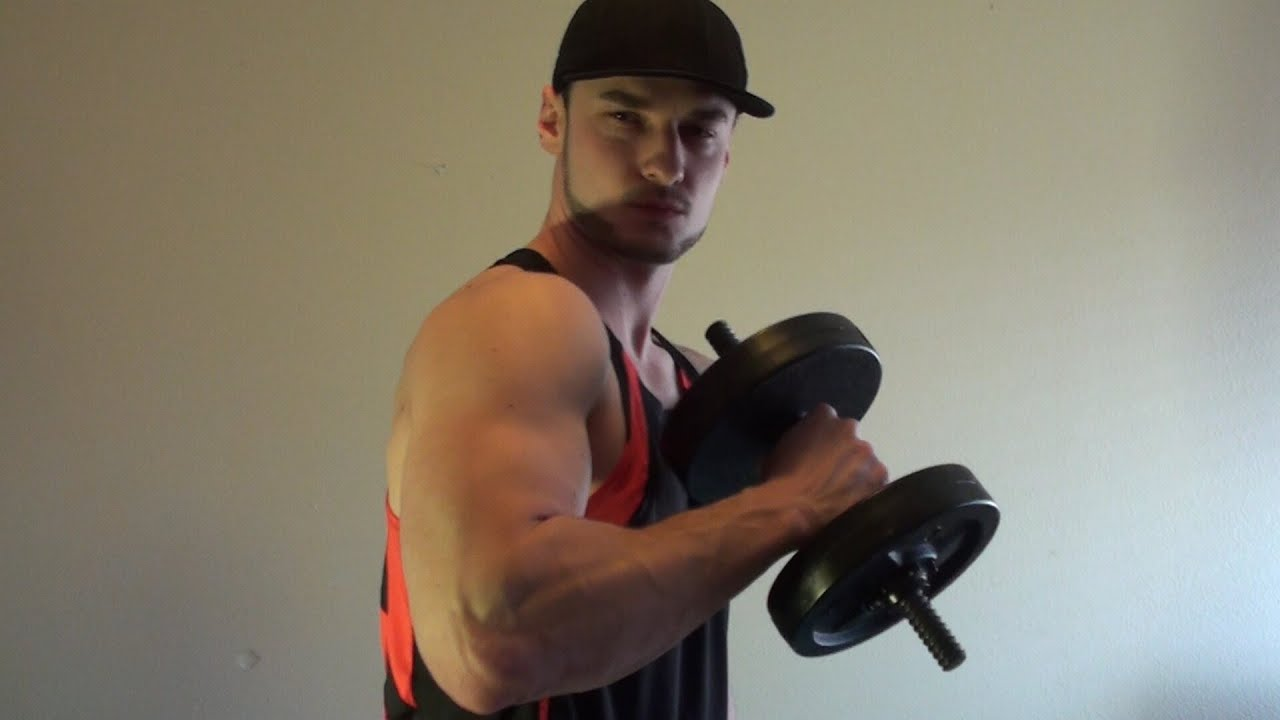 how to make your biceps bigger at home without weights