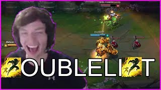 doublelift finally used his stored flash from worlds ft meteos best of lol streams 232