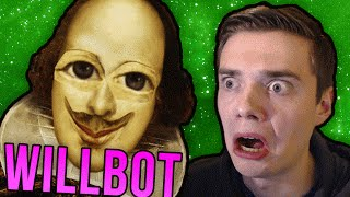 TALKING TO WILLIAM SHAKESPEARE BOT! (Cleverbot Will / Existor …