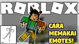 HOW TO USE EMOTES COMMAND IN ROBLOX