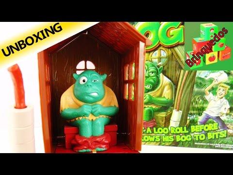 Ogro na privada com perigo de explodir - Og on the Bog | Quem roubará o papel do Ogro?