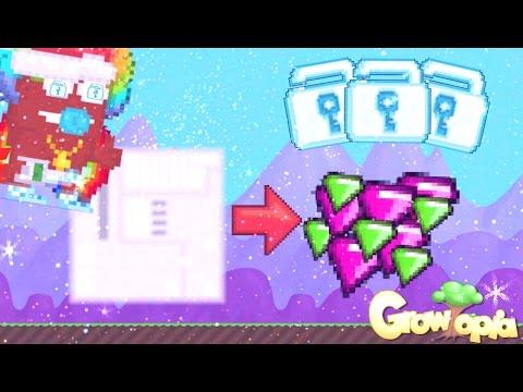 Growtopia | Farming 1000+ HTB Seeds ( INSANE PROFIT!!!! )