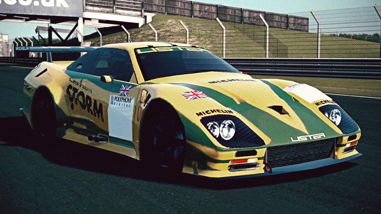 Lister Race Car