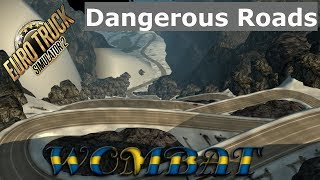 ETS2 1.32 - EAA offers some of South Americas most dangerous roads