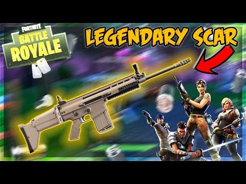 TEAM ALBOE FORTNITE FUNNY MOMENTS!! - WINNING WITH THE LEGENDARY SCAR