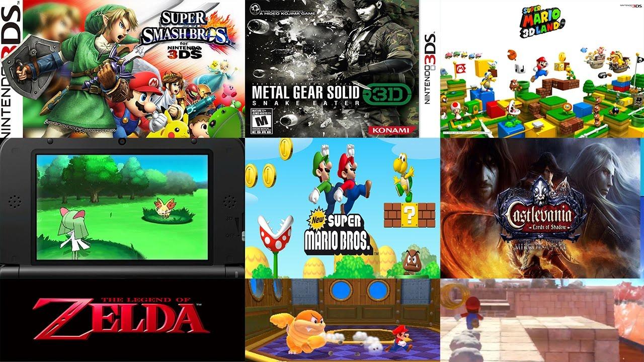 Los Mejores Juegos De Nintendo 3ds Youtube