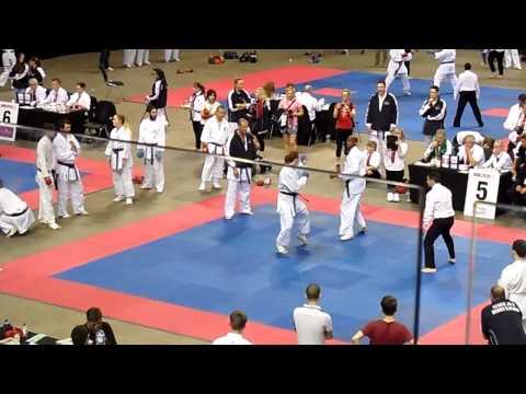 Gkr world cup male open black belts .marvin
