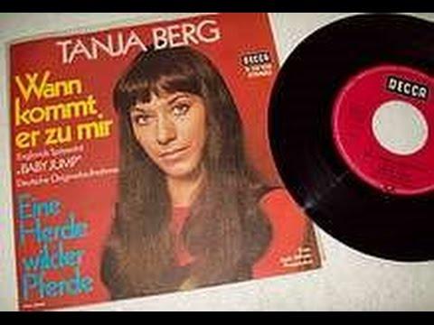 Tanja Berg  Eine Herde wilder Pferde Vinyl, 1971