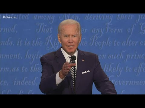 Biden to Trump: 'Will you shut up man...this is so unpresidential'