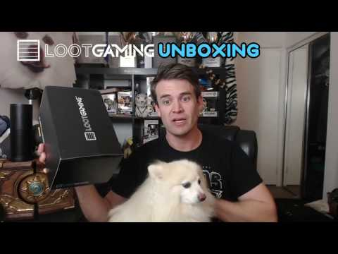 Loot Gaming and Loot Pets Unboxing - December SPACE