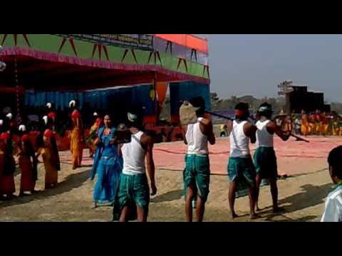 Bodo traditional dance 3 at cultural...