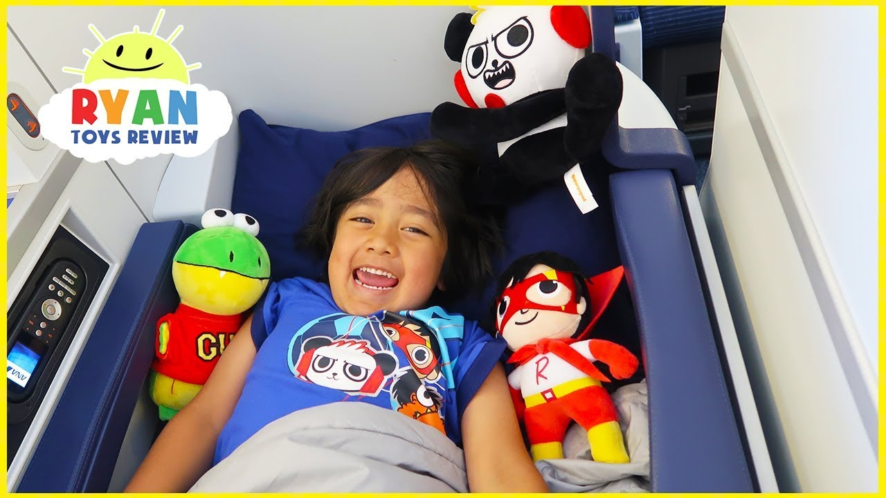 Ryan Toysreview Airplane Ride With Pretend Play Toys Youtube