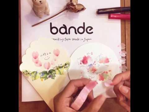 [ 小徑文化 ] NICO BANDE 和紙貼紙 - 櫻的花瓣