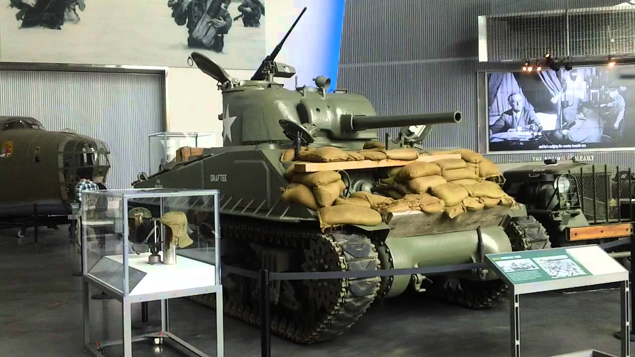 M Sherman Tank National World War II Museum New Orleans Louisiana - World war ii museums in usa