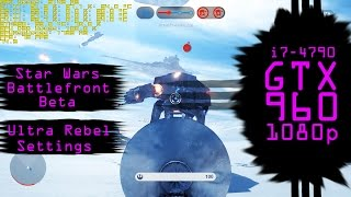 Star Wars Battlefront Beta Ultra Settings Rebel