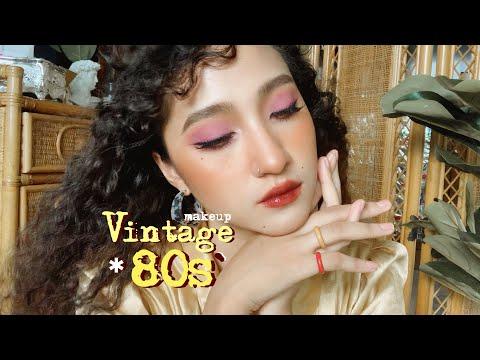 HOW TO ● แต่งหน้าเล่น สาววินเทจ 80s' ep.9♡