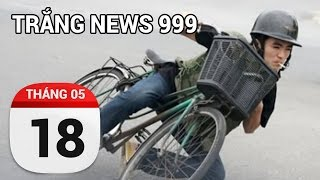 Hết hồn với clip ôm cua, bó vỉa của dân chơi Hà Thành...| TRẮNG NEWS 999 | 18/05/2017