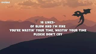 Lil Peep - 16 Lines (LYRICS)