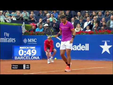 Rafa Nadal wins 10th Barcelona title   Barcelona Open 2017 Day 7 Final Highlights