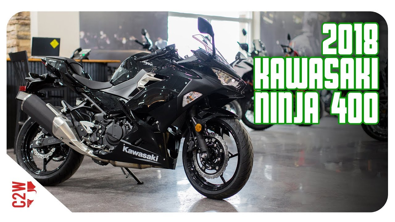 2018 Kawasaki Ninja 400 First Ride Youtube