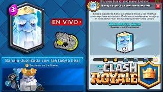 ¡¡¡¡JUGANDO EL DESAFíO DEL FANTASMA REAL!!! Clash Royale - [BloDz]