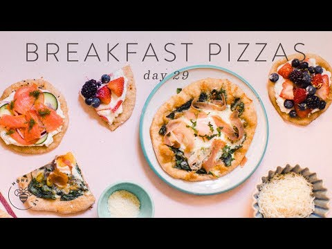 3 BREAKFAST PIZZAS (Healthy & Easy) �� DAY 29 | HONEYSUCKLE