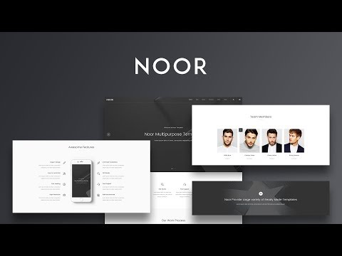 How to use Call to action Element | Noor WordPress Theme