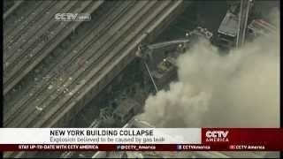 Gas Leak Explosion in New York