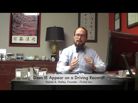 Does Improper Equipment Show On A Driving Record?