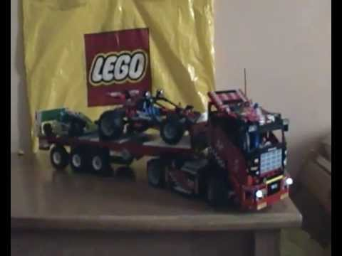 lego technic 8041 camion da gara mp4 youtube. Black Bedroom Furniture Sets. Home Design Ideas