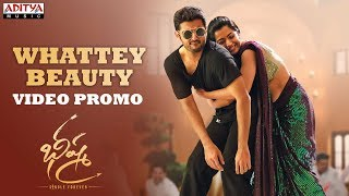 Whattey Beauty Video Promo | Bheeshma Movie | Nithiin, Rashmika| Venky Kudumula | Mahati Swara Sagar