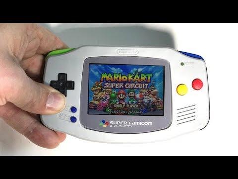 Custom Gameboy Advance