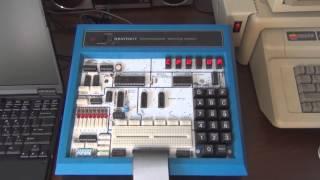 Heathkit ET-3400A microprocessor trainer