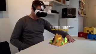 Mixed Reality to Virtual Reality Test on Gear VR